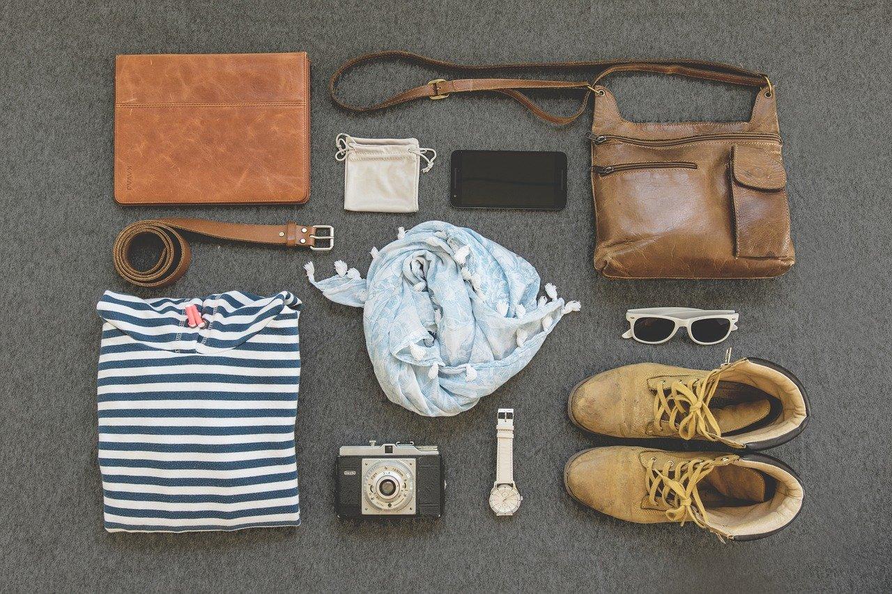 Skórzana torba i inne akcesoria